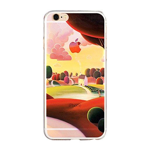 iPhone SE Hülle, iPhone 5S Hülle, iPhone 5 Schutzhülle, Vandot iPhone SE 5 5S Handyhülle Glänzend Malerei Durchsichtig Transparent Muster Pattern Diamant Bling Kristall Case Cover Thin TPU Silikon Wei Color 14