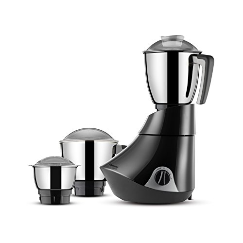 Butterfly Splendid 750-Watt Mixer Grinder with 3 Jars (Grey)