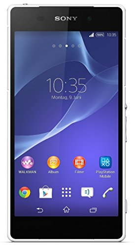 Sony Xperia Z2 Smartphone (5,2 Zoll (13,2 cm) Touch-Display, 16 GB Speicher, Android 4.4) weiß - Kamera Digitale Wasserdichte Sony