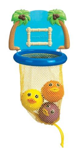 munchkin マンチキン おふろおもちゃ バス ダンカーズ お風呂でバスケ プカプカ浮かぶ ボールも楽しい バストイ