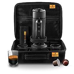 Idea Regalo - Handpresso Auto Set Capsule 48310 Set completo macchina espresso automobile  12V / 24V compatibile capsule Nespresso