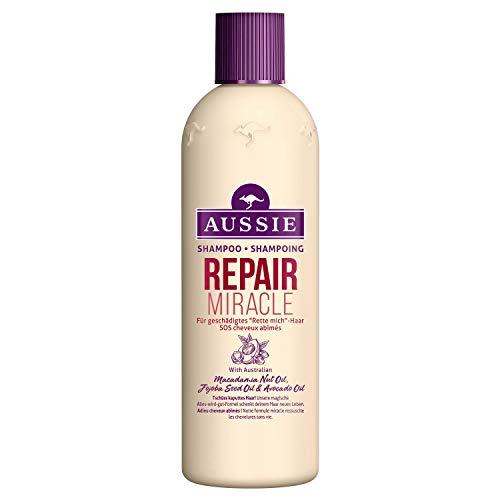 Aussie Repair Miracle Shampoo Die Rettung für Geschädigtes Haar, 300ml