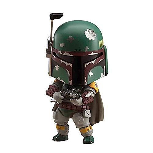 Kostüm Imperium Zurück Schlägt - MA SOSER Spielzeuge Nendoroid Star Wars / Das Imperium schlägt zurück Boba Fett Nicht schuppige Actionfigur aus ABS und PVC