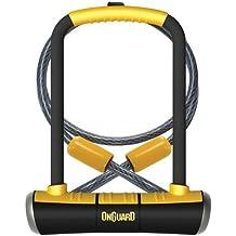 On-Guard 8005 Pitbull Keyed Shackle Lock - 11.5 x 23.0 cm, Black