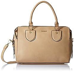 Diana Korr Womens Handbag (Beige) (DK31HAPR)