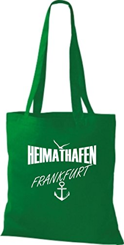 Shirtstown stoffbeutell port d'attache frankfurt plusieurs couleurs Vert - kelly