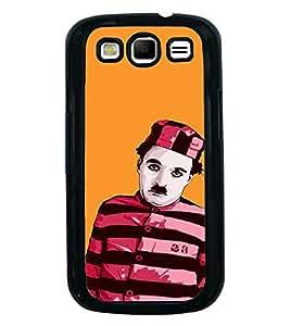 PrintVisa Designer Back Case Cover for Samsung Galaxy S3 I9300 :: Samsung I9305 Galaxy S Iii :: Samsung Galaxy S Iii Lte (Chaplin Art Mood Commedy)