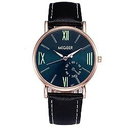 Men Watches,SMTSMT Crocodile Leather Mens Analog Watch Wrist Watches