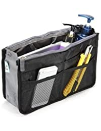 CoolKart Multipocket Handbag Organizer , Travel Bag Make Up Organizer Bag Women Men Casual Travel Bag Multi Function...