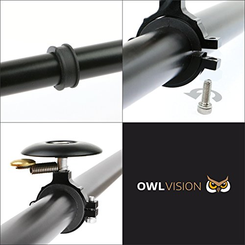 OWL VISION Fahrradklingel Hoot – Cymbal black - 5