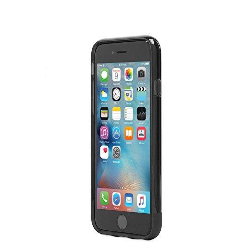Incase ICON Hülle mit TENSAERLITE™ Technologie Robust und Stoßabsorbierend für iPhone 6/6s - Schwarz/Grau Schwarz