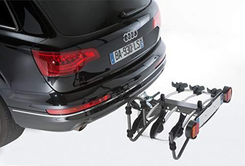 Unbekannt Mottez A018P3RA Fahrradträger auf Anhängerkupplung- 3 Fahrräder – Premium Plattform