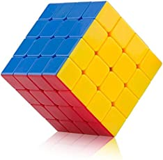 AdiChai 4 by 4 Stickerless Magic Speed Cube