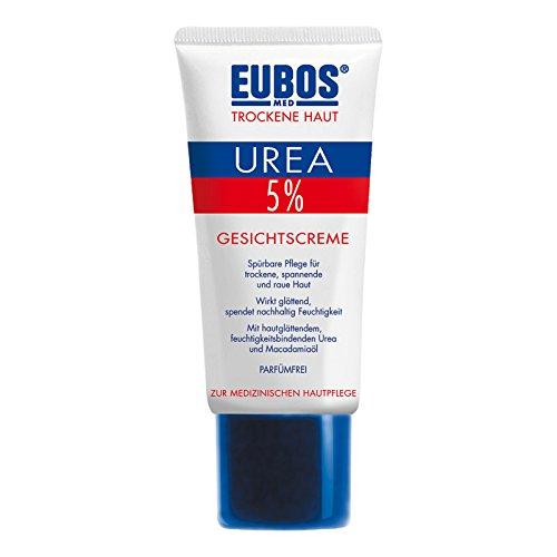 Eubos TH Urea 5 prozent Gesichtscreme, 1er Pack (1 x 50 ml)