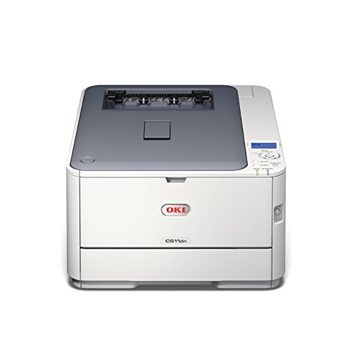 Oki Color Drucker (OKI C511dn LED-Duplex-Farblaserdrucker (A4, 1200 x 600 dpi))
