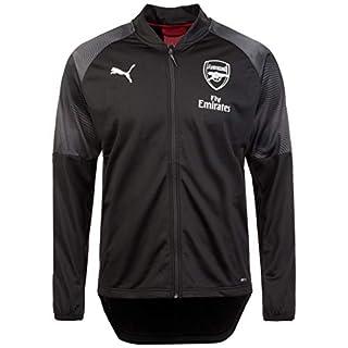 Puma Arsenal London Stadium Trainingsjacke Herren schwarz/rot, L