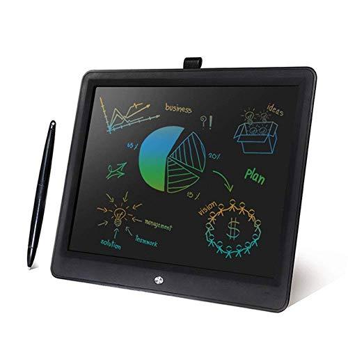BHDYHM LCD-Schreibtablett, 15-Zoll-Schreibtafel-Gekritzel-Brett, elektronisches Gekritzel-Auflagen-Reißbrett-Geschenk für Kinder und Erwachsene zu Hause, Schule und Büro