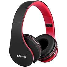 JIUHUFH Auriculares Bluetooth con Micrófono Incorporado/ Reproductor de MP3 / Radio FM / Manos Libres