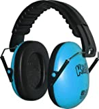 EDZ Kidz Casque antibruit ajustable pour enfant  (Bleu)