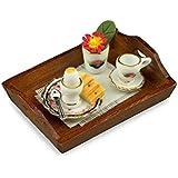 "M.W. Reutter - Breakfast Set ""Black Rose"" Measurements article in cm (L/W/H): 5,5 x 4 x 3,5"