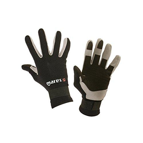 Mares Erwachsene Taucherhandschuhe Gloves AMARA 20, Schwarz, XL, 422752