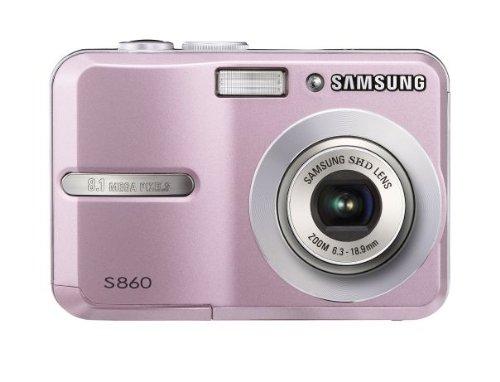 Samsung S860 Digitalkamera (8 Megapixel, 3-fach opt Zoom, 6,1 cm (2,4 Zoll)...