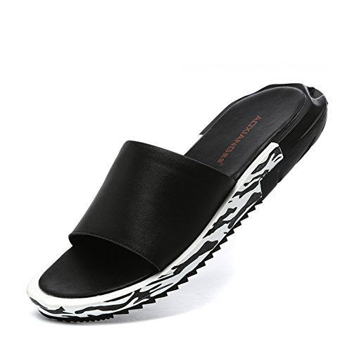 Pantofole uomo estate/Pantofole/Piattaforma infradito-A Lunghezza piede=24.3CM(9.6Inch)