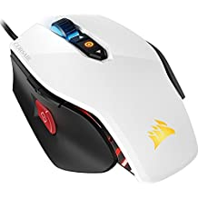 Corsair CH-9300111 M65 PRO RGB FPS Gaming Mouse LED 12000 DPI Optical USB white (Renewed)