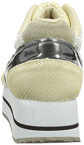Colours of California Hc.run26 Damen Knöchelfreie Sneaker Beige (Natur)
