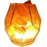 Lampada Da Tavolo In Cristallo Di Himalayan A 6 Pollici Con Forma Geometrica Lampada Da Tavolo A Led Lampada Da Tavolo Dimmerabile Regalo Di Natale Con Lampadina A Led