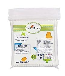 1st Step ST-3101 Baby MiniCotten Buds (White)