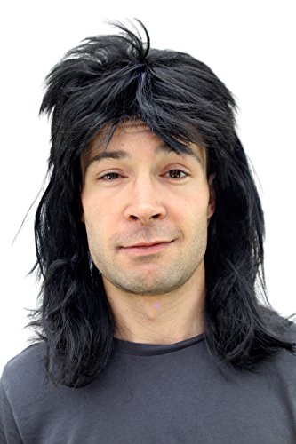 Wayne's World Wayne Campbell Mike Myers Black Wig