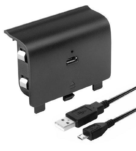 izkar-batteria-per-console-xbox-one-play-charge-kit-dotato-di-batteria-ricaricabile-con-cavo-micro-u