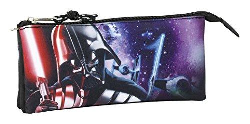 Safta Estuche Escolar Star Wars «Saga» Oficial 220x30x100mm
