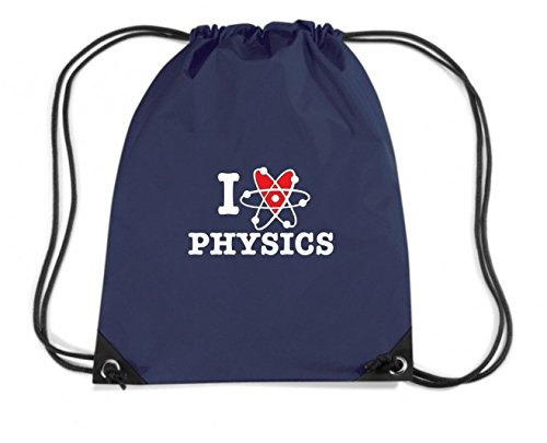 t-shirtshock-zaino-zainetto-budget-gymsac-tlove0087-i-love-physics-taglia-capacita-11-litri