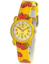 Casio LTR13B9B - Reloj Infantil textil Amarillo