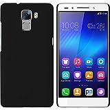 PhoneNatic Coque Rigide Compatible avec Huawei Honor 7 - gommée Noir - Cover...