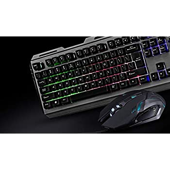 (Renewed) Zebronics Transformer Gaming Multimedia USB Keyboard and Mouse Combo (Black)