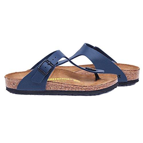 Birkenstock Gizeh Blue Womens Sandals Blue