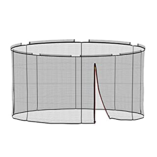Ampel 24Deluxe Ground Trampoline Diameter 366cm Garden Trampoline Replacement Net for 8pole Net Safety Net included   Replacement Part Tear-resistant & UV Resistant