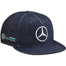 Mercedes-Benz - Gorra de béisbol - para Hombre Azul Azul Talla única