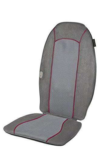 Medisana Ecomed MC-90E Shiatsu Massageauflage 23306, mit 4 rotierenden Massageköpfen und zuschaltbarer Wärmefunktion, in 3 verschiedenen Zonen des Rückens