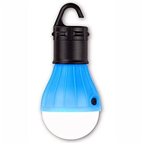 G7Explorer Tent Light Outdoor Portable LED Lantern Multi Purpose Ultra Bright Camping Light (Blue) - Bright Blue Headlights