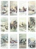 Zita`s Creative Reispapier A4 - Winter