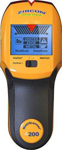 Zircon A200 Nietenfinder mit Metall-Scan-Modus, Gelb
