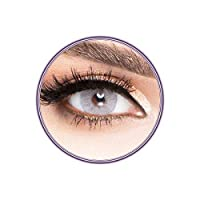 Unisex Luminous Contact Lenses, Luminous Grey, Cosmetic Contact Lenses, Yearly Disposable, Grey Color