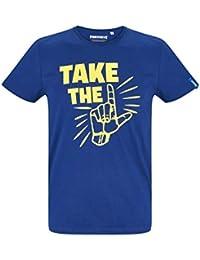 T-shirt Logo Dj Marshmello Taglie Bambino E Adulto Fortnite Bianca O Nera T-shirt, Maglie E Camicie Bambino: Abbigliamento