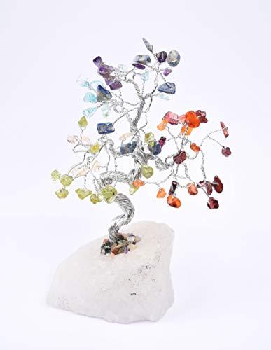 Humunize Reiki Spiritueller Glaube Heilung Vastu Edelstein Multi Mix Baum Feng Shui Geschenk Vastu Tisch Dekor Baum