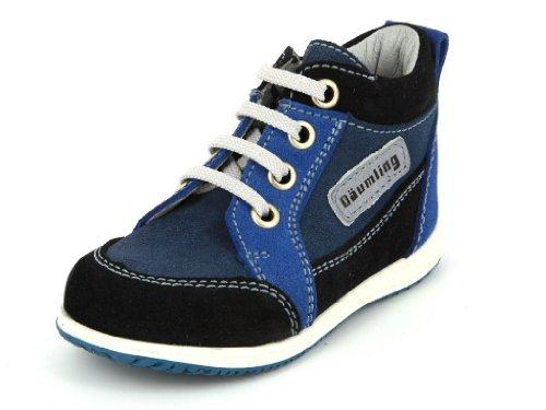 Däumling  050021-S-47, Chaussures premiers pas pour bébé (fille) Bleu Turino ozean Bleu - Blau (47 turino ozean)