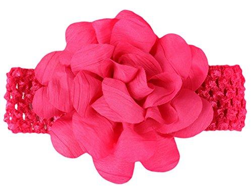 EOZY Bandeau Accessoire Fleur Cheveux Fille Bébé Bande Large Turban Elastique #8